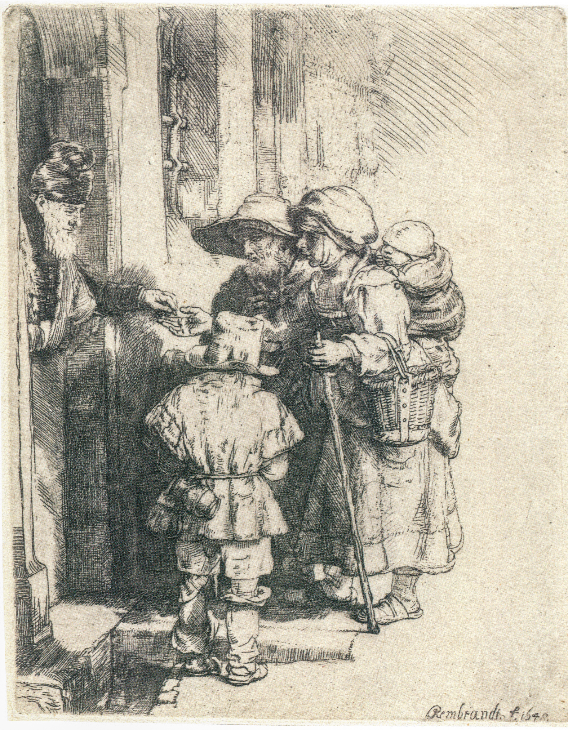 Rembrandt_-_Beggars_Receiving_Alms_at_the_Door_of_a_House