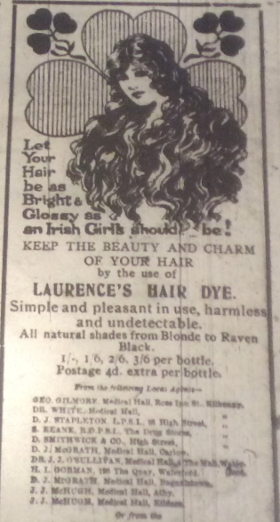 Hair-Dye-Ad---Kilkenny-Journal-1920