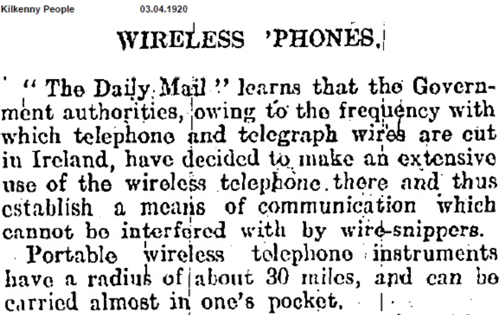 Wireless-telephones-in-1920